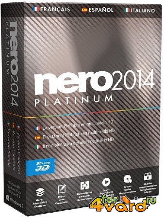 Nero 2014 Platinum 15.0.07700 Final + Content Packs