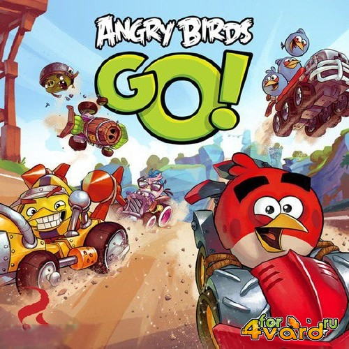 ANGRY BIRDS GO! 1.2.0 + MOD (ANDROID)