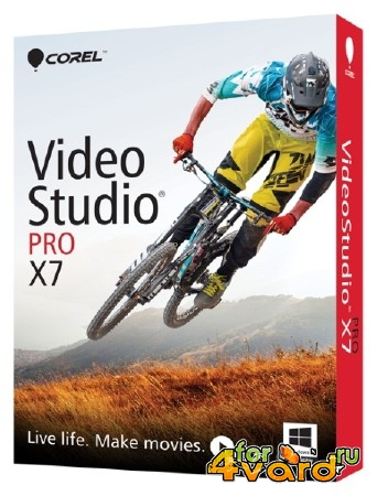 Corel VideoStudio Pro X7 17.1.0.37 SP1 (x86/x64/2014/ML/ENG)