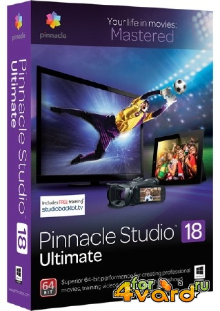 Pinnacle Studio Ultimate 18.0.1.10212 + Ultimate Collection by VPP