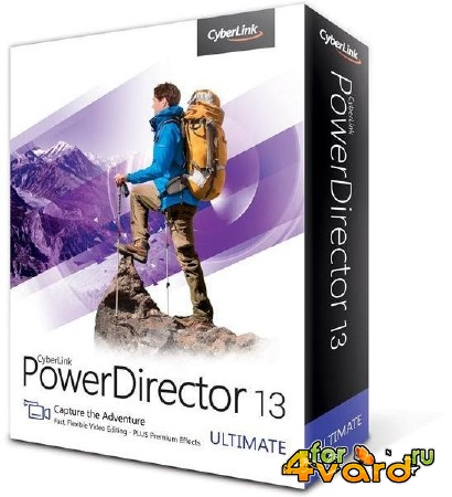 CyberLink PowerDirector Ultimate 13.0.2604 (2015/ML/RUS/ENG)