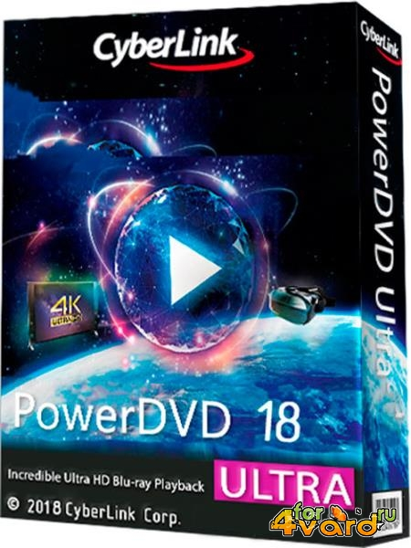 CyberLink PowerDVD Ultra 18.0.1619.62 (2018)